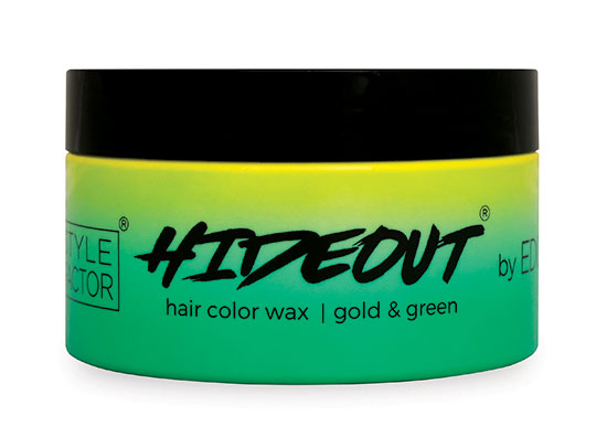 HIDEOUT Color Wax Gold & Green